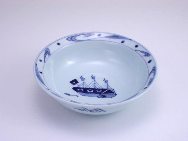 有田焼 青花 大航海甲型取鉢