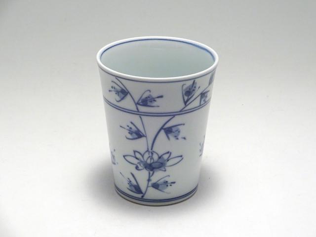 ミルクカップ HANAKARAKUSA しん窯 青花