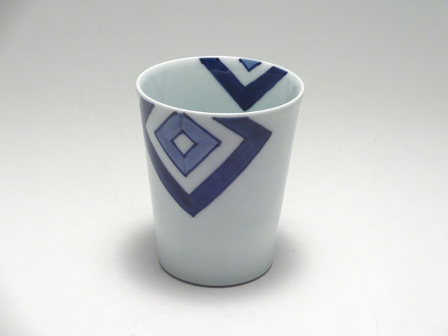 ミルクカップ EDO しん窯 青花