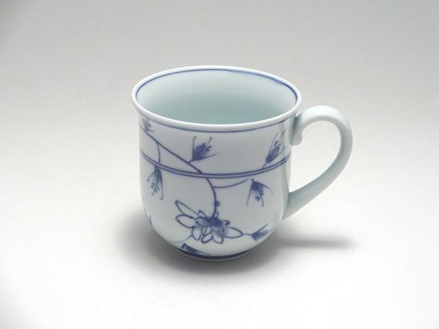 マグカップ HANAKARAKUSA しん窯 青花