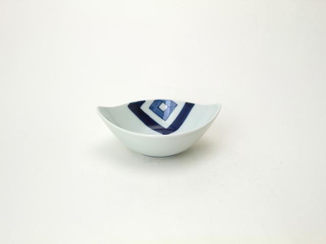 舟型小鉢 EDO しん窯 青花