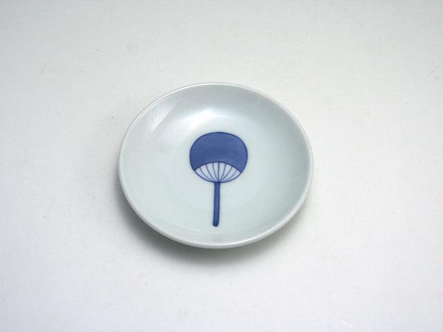 有田焼 青花匠 うちわ3寸皿