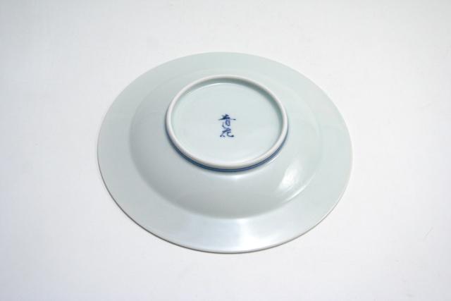 有田焼 青花 カール紅毛人プチケーキ皿