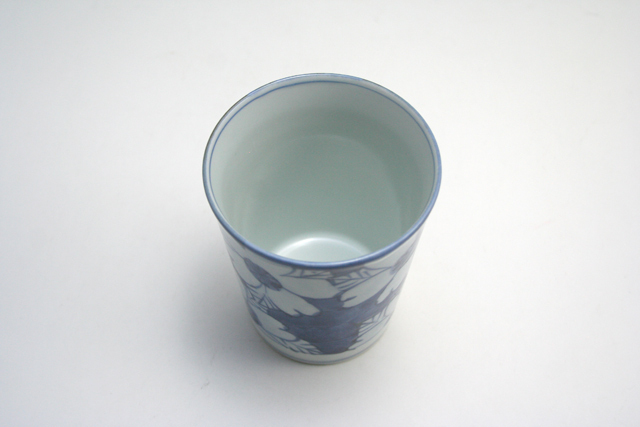 有田焼 青花 花濃ミルクカップ