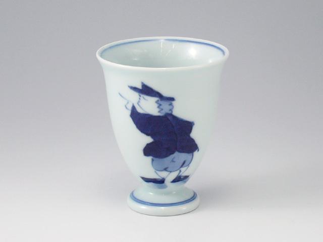 紅毛人ワインカップ しん窯 青花