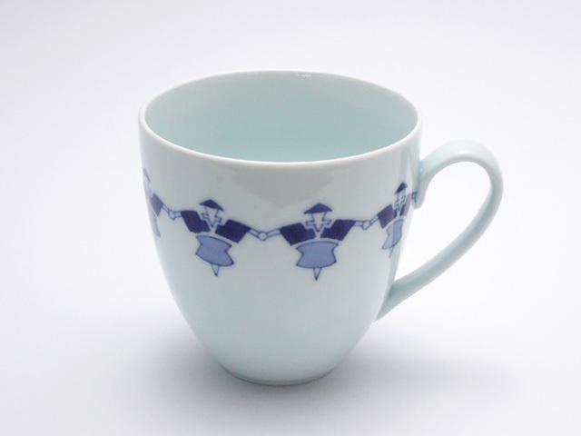 有田焼 青花匠 やじろべえマグカップ