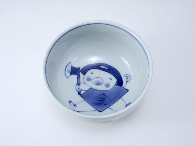 新金太郎玉渕4寸丼 しん窯 青花