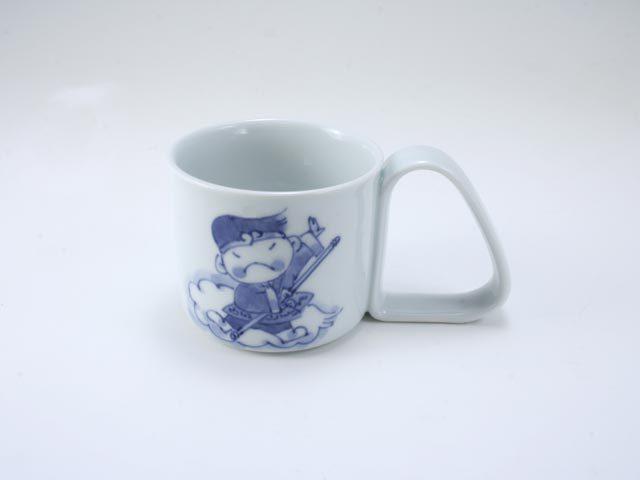 新孫悟空倒れにくいマグカップ(小) しん窯 青花