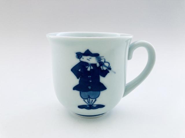 ハーモニー マグカップ(V) しん窯 青花
