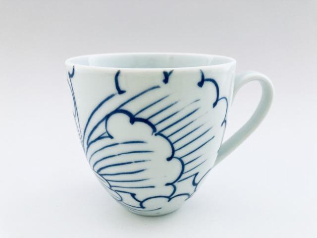 BOTANマグカップ しん窯青花匠