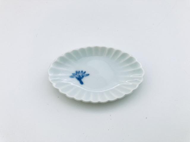 菊割箸置き 青花匠