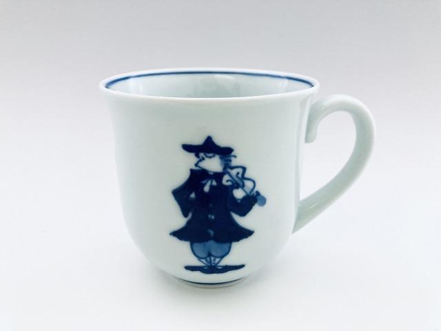 二重奏 反マグカップ しん窯青花