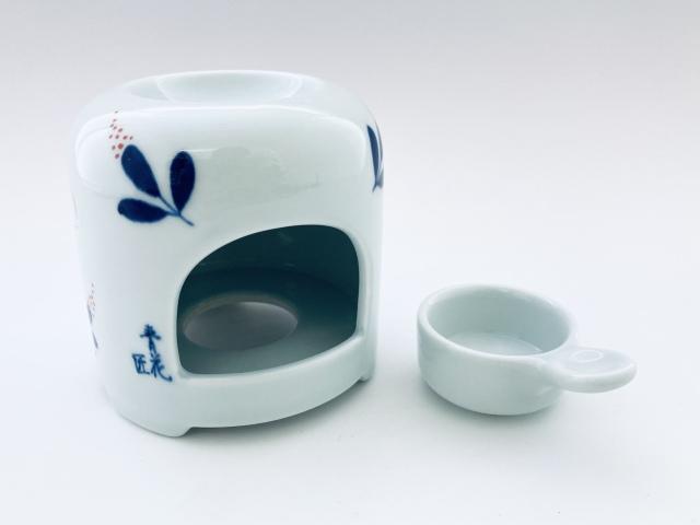 南天茶香炉 しん窯青花匠 限定商品