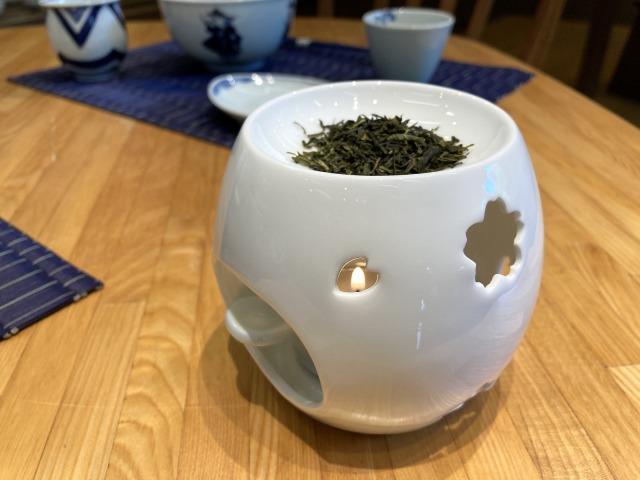 SAKUARA茶香炉 しん窯青花匠