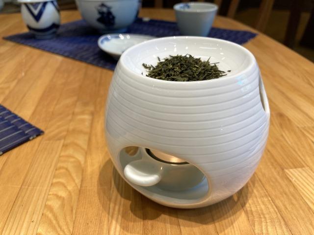SUJI茶香炉 しん窯青花匠