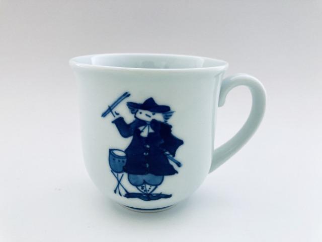 ハーモニー マグカップ(T) しん窯 青花