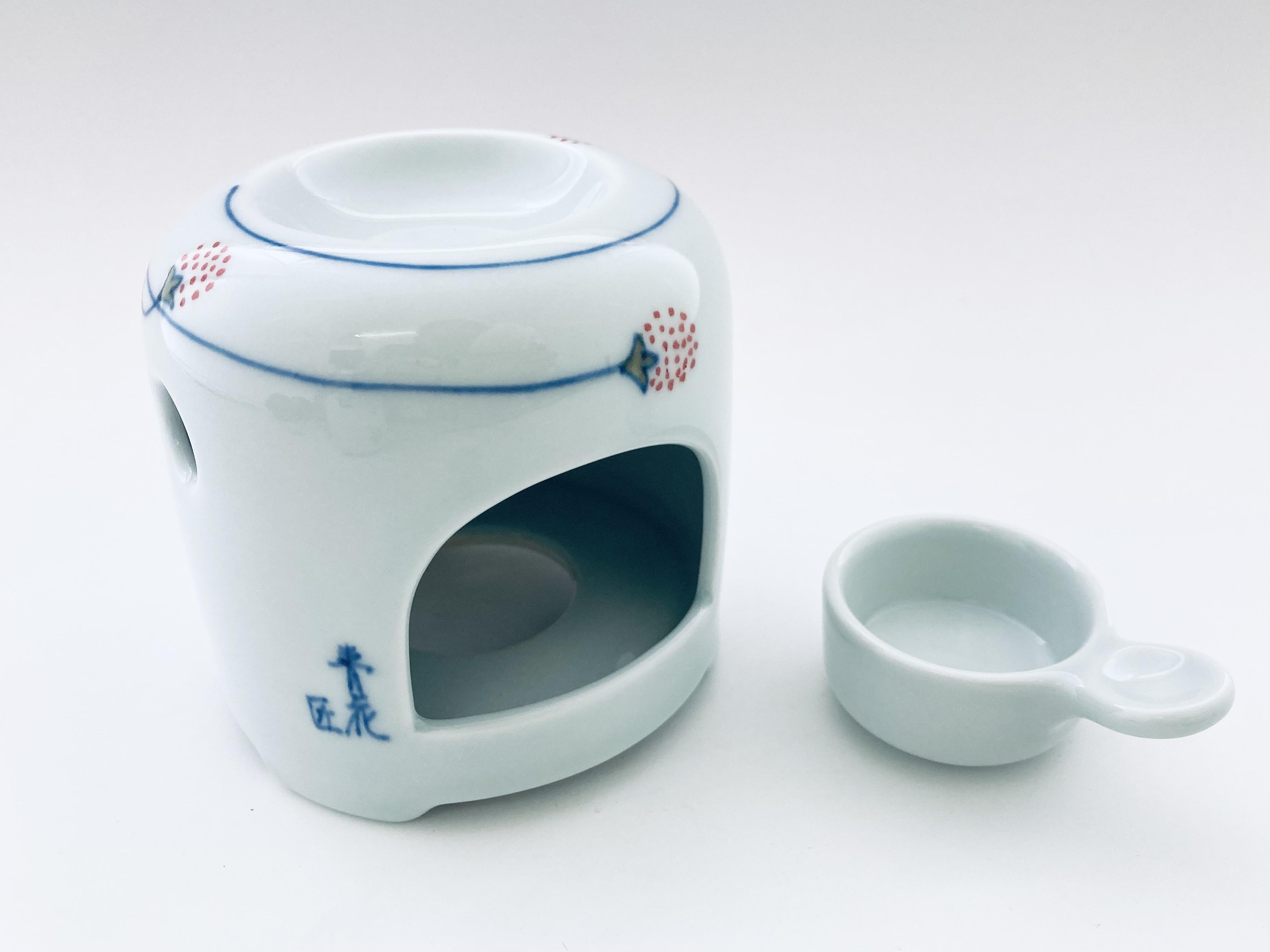 つるいちご茶香炉 しん窯青花匠 限定商品