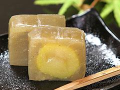 栗でつくられた贅沢な逸品!伝統の味【栗きんとん羊羹<小>】