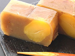 栗でつくられた贅沢な逸品!伝統の味【栗きんとん羊羹<大:2本箱入>】