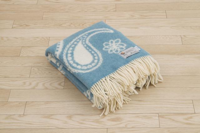 ウール毛布 バーカーテキスタイルブランケット Barker Textile ブランド あったかストール ひざ掛け