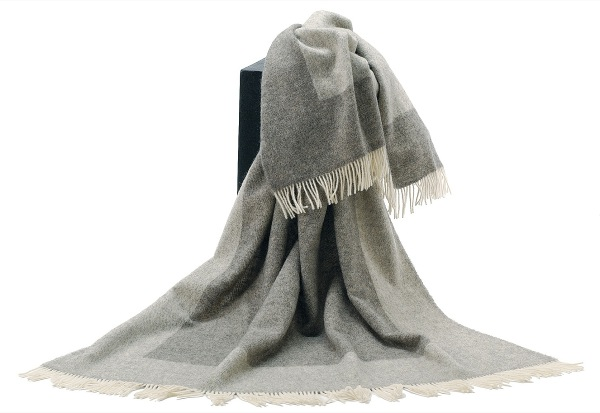 可愛いおしゃれな毛布のシルケボーウールブランケット北欧テイストの商品画像