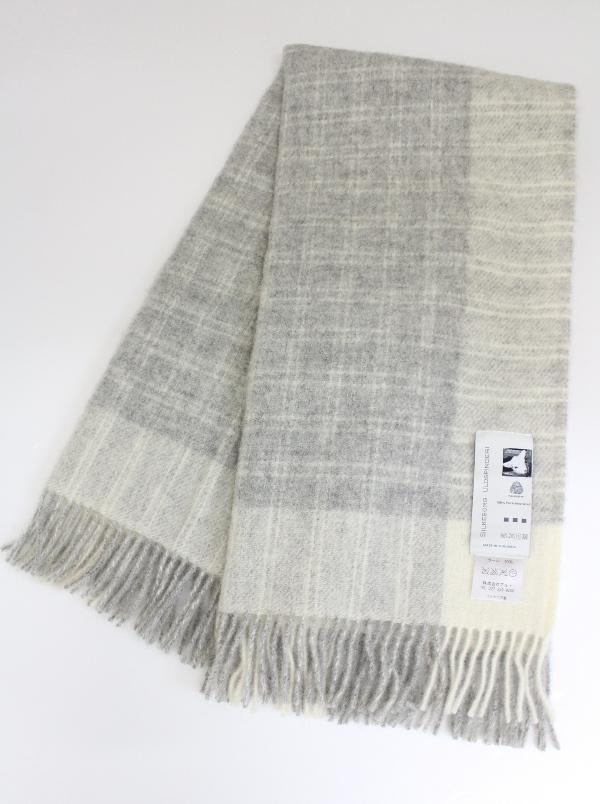 可愛いおしゃれな毛布のシルケボーウールブランケット北欧テイストの商品畳み画像