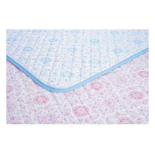 正規品 京都西川 京の夏支度 敷きパッド 100x205cm 接触冷感 クール 冷たい