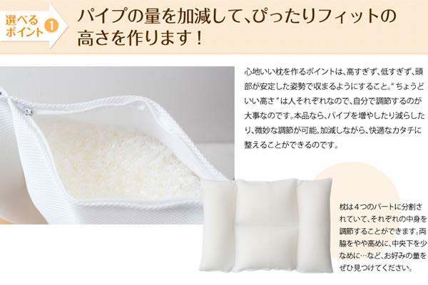 セミオーダー枕 中身 オーダーメイド おすすめ 洗濯 人気