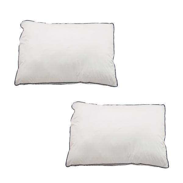 Goosely グースリー 枕 2個セット 羽毛 のような ふんわり 快眠 洗える まくら 43×63cm