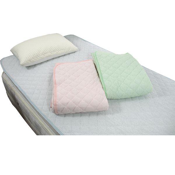 正規品 あぜ織タオル敷パッド シングル(100×205cm)抗菌 防臭 丸洗いOK