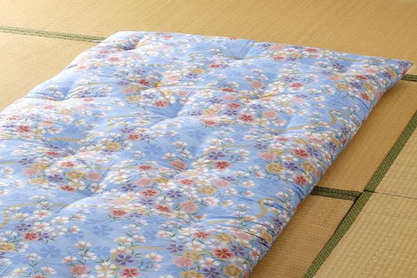 和布団 一級技能士 手作り 日本製 敷布団 なでしこ