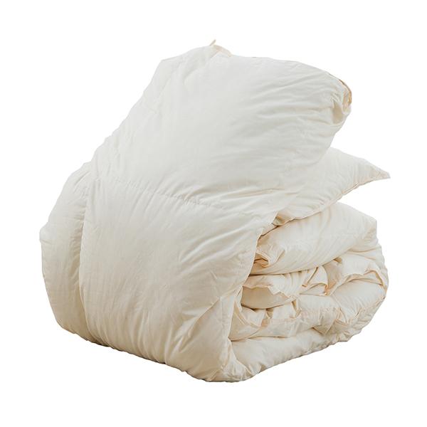 日本製 ホワイトダックダウン85% 羽毛掛布団 ダブルサイズ 190×210cm