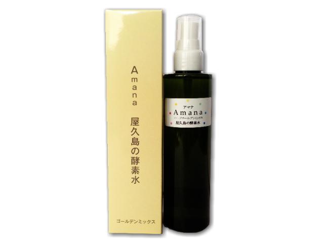 Amana 屋久島の酵素水 ゴールデンミックス スプレー容器入り (200ml) ~テネモス商品~ ※飲料用ではございません。