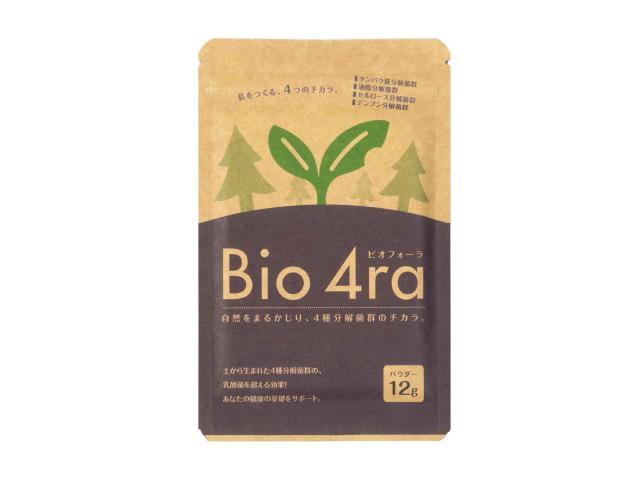 「Bio4ra (ビオフォーラ) パウダー」 ~土から生まれた4種分解菌群の土壌菌サプリメント~