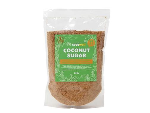 ココウェル ココナッツシュガー (250g) ~香ばしくて美味しいココナッツの花蜜糖~