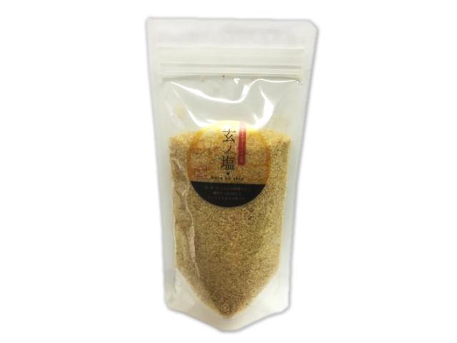 京丹後フルーツガーリック 「玄ノ塩 (くろのしお)」 (200g) ~生体エネルギー活用商品~