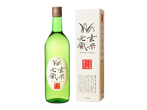 玄米発酵アミノ酸健康エキス「玄米元気(旧:うまさ革命)」(720ml)