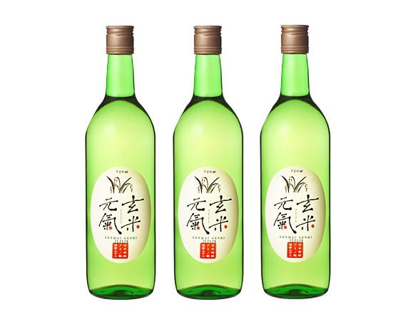 玄米発酵アミノ酸健康エキス「玄米元気(旧:うまさ革命)」(720ml) 3本セット