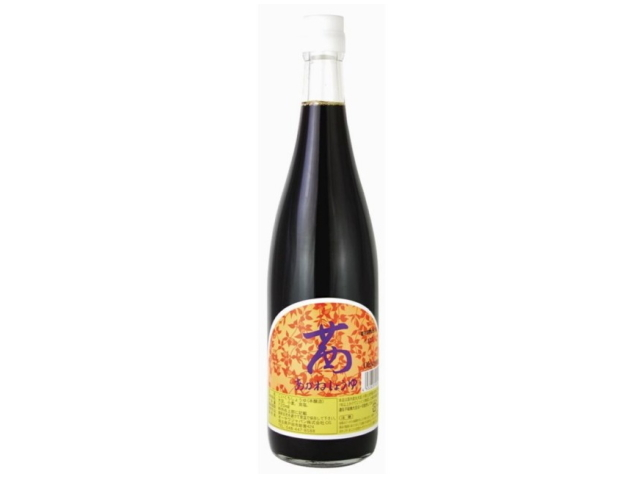 Ohsawa 「茜醤油 (720ml)」 ~国産原料を信州で1年以上長期熟成させた本醸造~