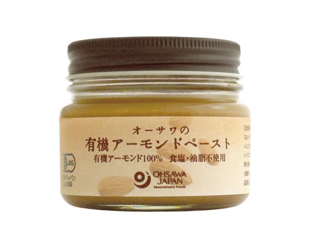 Ohsawa 「オーサワの有機アーモンドペースト (80g)」 ~有機アーモンド100%・砂糖・食塩・油脂不使用~