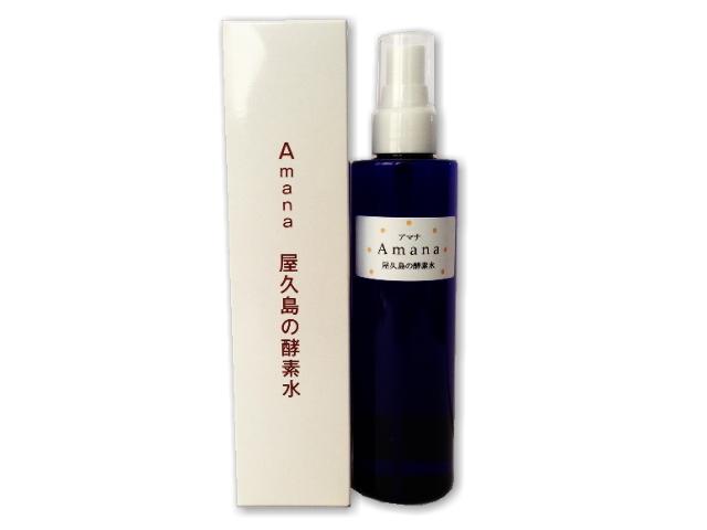 Amana 屋久島の酵素水 プレーン スプレー容器入り (200ml) ~テネモス商品~ ※飲料用ではございません。