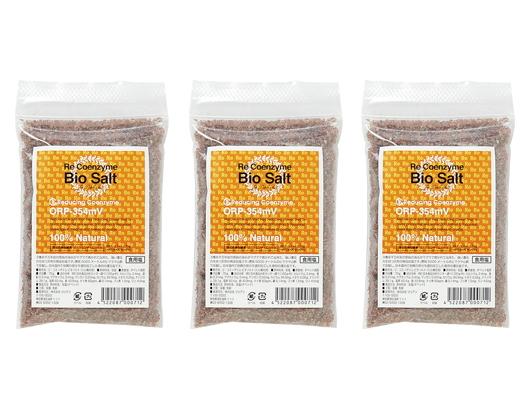 「リ・コエンザイム ビオソルト (70g×3袋) ※ミル詰替え用」 ~マグマで焼かれた還元力の強い岩塩~
