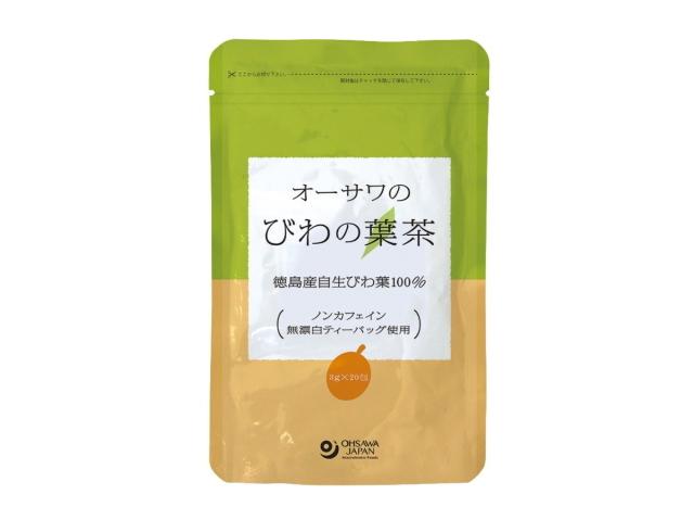 Ohsawa 「オーサワのびわの葉茶 (3g×20袋)」 ~徳島産自生びわの葉使用~