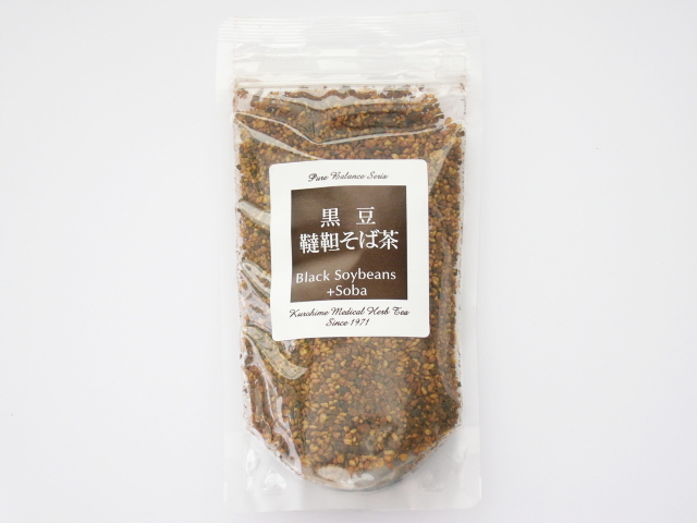 Cafe de Kampoh (カフェ・ド・漢方) 「黒豆韃靼そば茶 (120g)」 ~生体エネルギー活用商品~