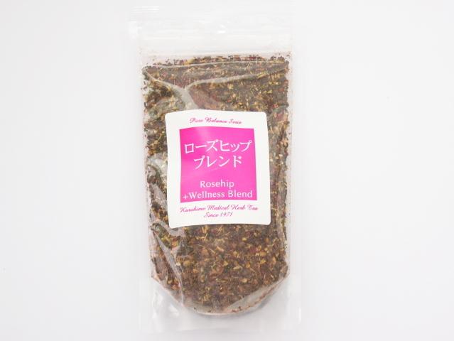 Cafe de Kampoh (カフェ・ド・漢方) 「ローズヒップブレンド茶 (90g)」 ~生体エネルギー活用商品~