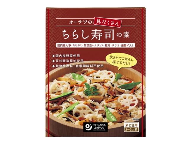 Ohsawa 「オーサワの具だくさん ちらし寿司の素 150g」