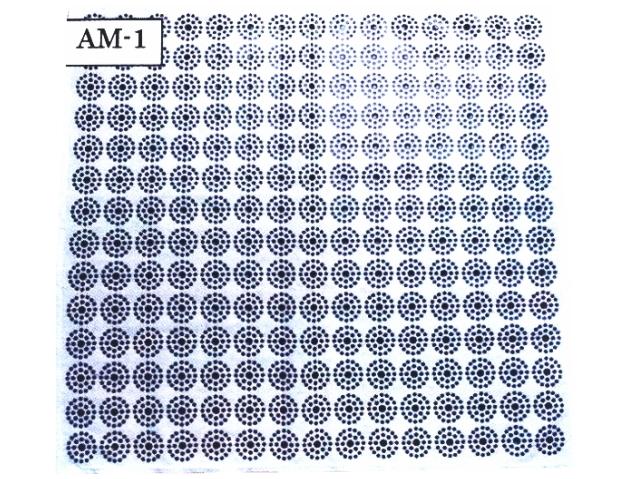 食卓用 「CMC 健康クロス」 ~螺旋構造をした不思議な炭素繊維カーボンマイクロコイル~