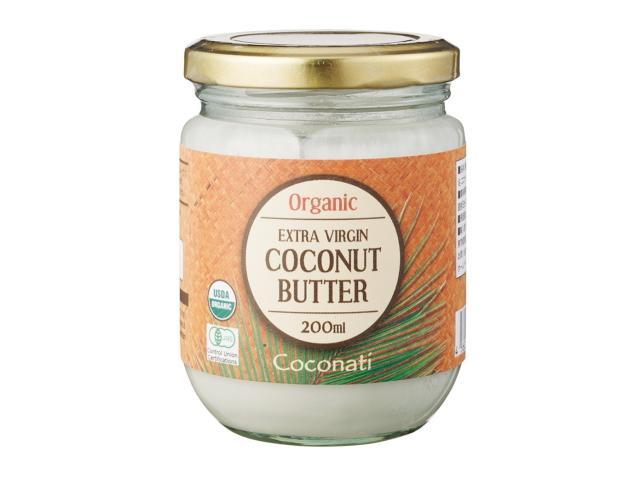 Coconati 「オーガニックココナッツバター (200g)」 ~有機JAS認証取得~