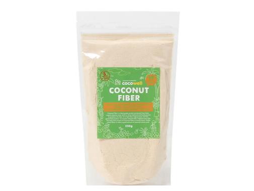 ココウェル ココナッツファイバー (250g) ~ココナッツ果肉から生まれた天然の食物繊維~