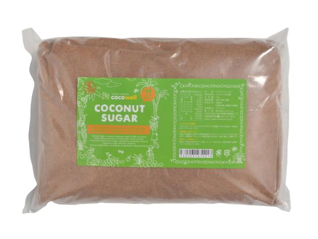 ココウェル ココナッツシュガー (1kg) ~香ばしくて美味しいココナッツの花蜜糖~